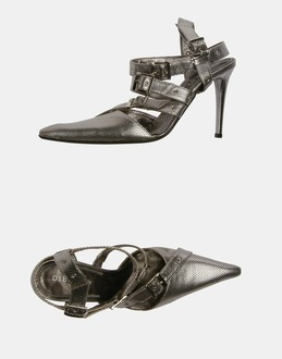 More information or Buy online WOMAN - DIBRERA BY PAOLO ZANOLI - FOOTWEAR - SLINGBACKS - AT YOOX
