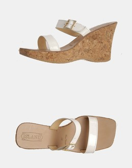 More information or Buy online WOMAN - ISLAND - FOOTWEAR - HIGH-HEELED SANDALS - AT YOOX