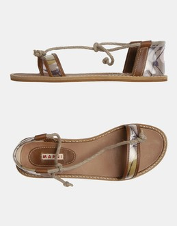 More information or Buy online WOMAN - MARNI - FOOTWEAR - FLIP FLOPS - AT YOOX