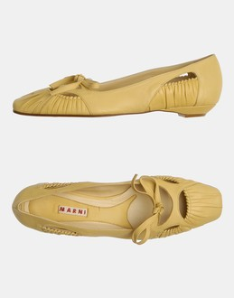 More information or Buy online WOMAN - MARNI - FOOTWEAR - BALLET FLATS - AT YOOX