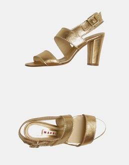 More information or Buy online WOMAN - MARNI - FOOTWEAR - HIGH-HEELED SANDALS - AT YOOX