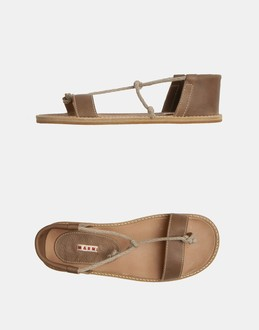 More information or Buy online MAN - MARNI - FOOTWEAR - FLIP FLOPS - AT YOOX