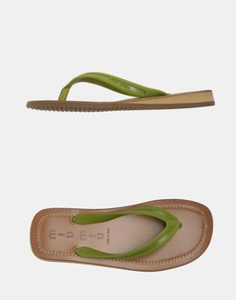 More information or Buy online MAN - MIU MIU - FOOTWEAR - FLIP FLOPS - AT YOOX