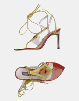 More information or Buy online WOMAN - EMILIO PUCCI - FOOTWEAR - HIGH-HEELED SANDALS - AT YOOX