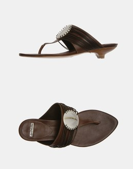 More information or Buy online WOMAN - DEI MILLE - FOOTWEAR - FLIP FLOPS - AT YOOX