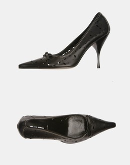 More information or Buy online WOMAN - MIU MIU - FOOTWEAR - CLOSED-TOE SLIP-ONS  - AT YOOX