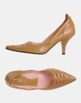 More information or Buy online WOMAN - FORNARINA - FOOTWEAR - CLOSED-TOE SLIP-ONS  - AT YOOX