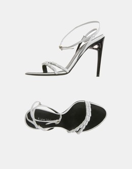 More information or Buy online WOMAN - LUCA VALENTINI - FOOTWEAR - HIGH-HEELED SANDALS - AT YOOX