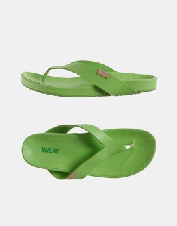 More information or Buy online MAN - SWEAR - FOOTWEAR - FLIP FLOPS - AT YOOX