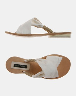 More information or Buy online WOMAN - MALLONI - FOOTWEAR - SANDALS - AT YOOX