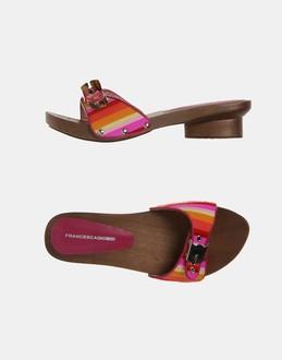 More information or Buy online WOMAN - FRANCESCAGIOBBI - FOOTWEAR - SANDALS - AT YOOX