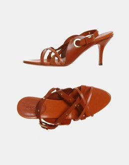 More information or Buy online WOMAN - GUCCI - FOOTWEAR - HIGH-HEELED SANDALS - AT YOOX