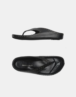 More information or Buy online WOMAN - ROBERTO DEL CARLO - FOOTWEAR - FLIP FLOPS - AT YOOX