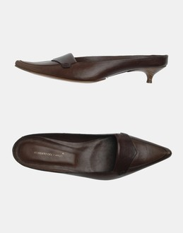 More information or Buy online WOMAN - ROBERTO DEL CARLO - FOOTWEAR - MULES - AT YOOX