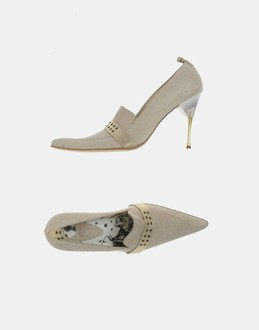 More information or Buy online WOMAN - JUST CAVALLI - FOOTWEAR - CLOSED-TOE SLIP-ONS  - AT YOOX