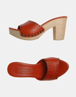 More information or Buy online WOMAN - ROBERTO DEL CARLO - FOOTWEAR - HIGH-HEELED SANDALS - AT YOOX