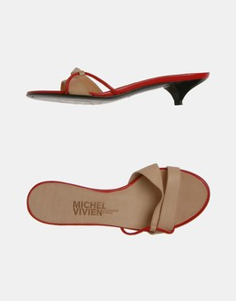 More information or Buy online WOMAN - MICHEL VIVIEN - FOOTWEAR - HIGH-HEELED SANDALS - AT YOOX