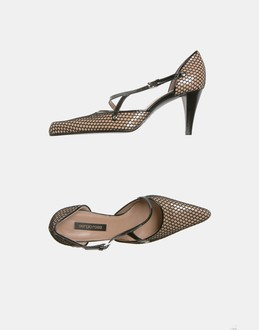 More information or Buy online WOMAN - SERGIO ROSSI - FOOTWEAR - CLOSED-TOE SLIP-ONS  - AT YOOX