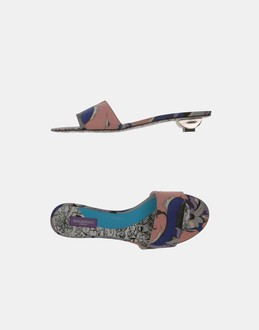 More information or Buy online WOMAN - EMILIO PUCCI - FOOTWEAR - SANDALS - AT YOOX