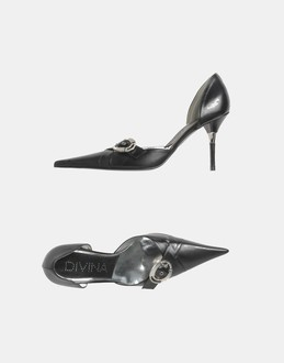 More information or Buy online WOMAN - DIVINA - FOOTWEAR - CLOSED-TOE SLIP-ONS  - AT YOOX