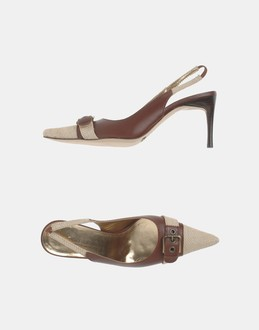 More information or Buy online WOMAN - DOLCE &amp; GABBANA - FOOTWEAR - SLINGBACKS - AT YOOX