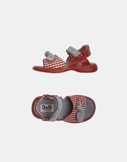 More information or Buy online GIRL - D&G JUNIOR - FOOTWEAR - SANDALS - AT YOOX
