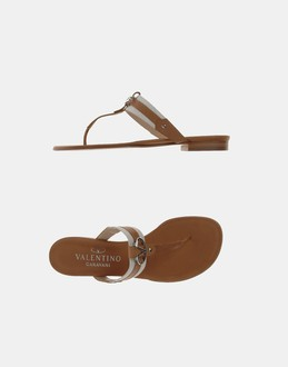 More information or Buy online WOMAN - VALENTINO GARAVANI - FOOTWEAR - FLIP FLOPS - AT YOOX