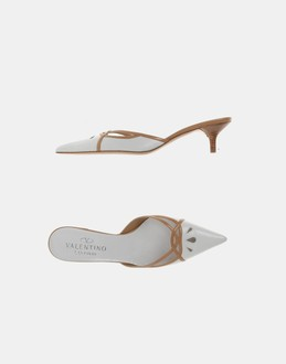 More information or Buy online WOMAN - VALENTINO GARAVANI - FOOTWEAR - MULES - AT YOOX