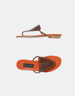 More information or Buy online WOMAN - VICTORIA FOX - FOOTWEAR - FLIP FLOPS - AT YOOX