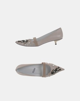 More information or Buy online WOMAN - ALIMA - FOOTWEAR - CLOSED-TOE SLIP-ONS  - AT YOOX