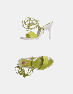 More information or Buy online WOMAN - KEY Té - FOOTWEAR - HIGH-HEELED SANDALS - AT YOOX