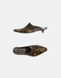 More information or Buy online WOMAN - DÉBUT - FOOTWEAR - MULES - AT YOOX