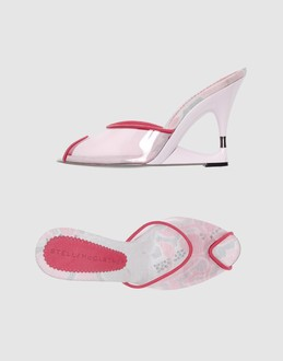 Stella McCartney wedges :  pink wedges stella mccartney shoes