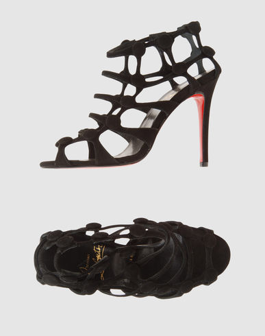 CHRISTIAN LOUBOUTIN Women - Footwear - High-heeled sandals CHRISTIAN LOUBOUTIN on YOOX :  christian louboutin shoes sandals