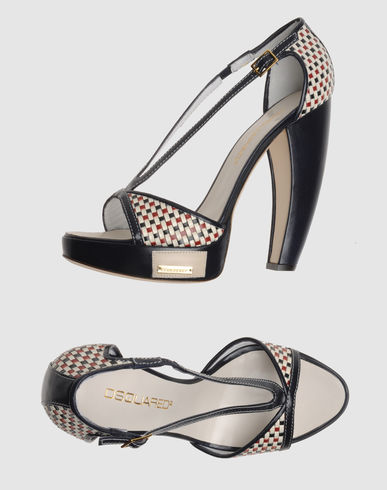 DSQUARED2 Women - Footwear - High-heeled sandals DSQUARED2 on YOOX :  footwear shoes dsquared2