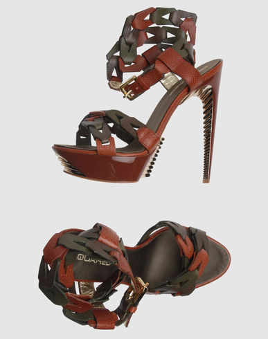 DSQUARED2 Women - Footwear - High-heeled sandals DSQUARED2 on YOOX from yoox.com