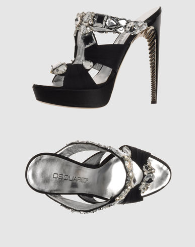 DSQUARED2 Women - Footwear - High-heeled sandals DSQUARED2 on YOOX :  platform dsquared2 designer sandals
