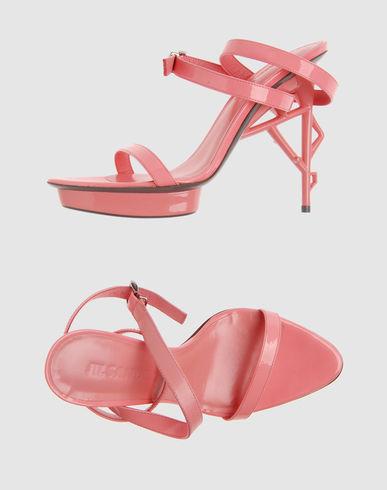 JIL SANDER Women - Footwear - High-heeled sandals JIL SANDER on YOOX