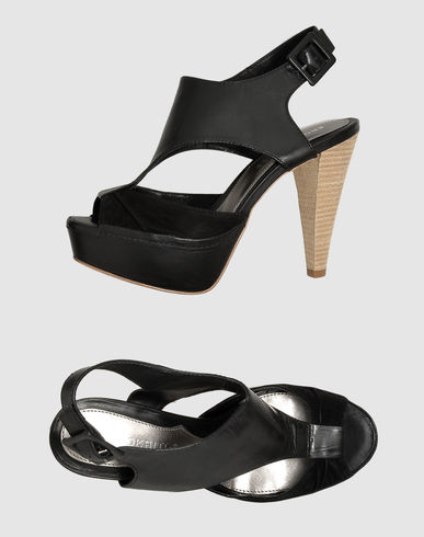 EROTOKRITOS Platform sandals from yoox.com