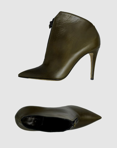 Donna Karan - Shoe boots :  leather boots boots ankle boots military trend