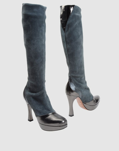 LES TROPEZIENNES Women - Footwear - High-heeled boots LES TROPEZIENNES on YOOX United States :  shopping clothing women bags