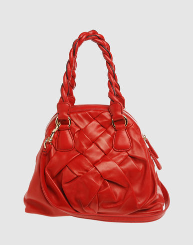 VALENTINO GARAVANI Women - Handbags - Medium leather bag VALENTINO GARAVANI on YOOX
