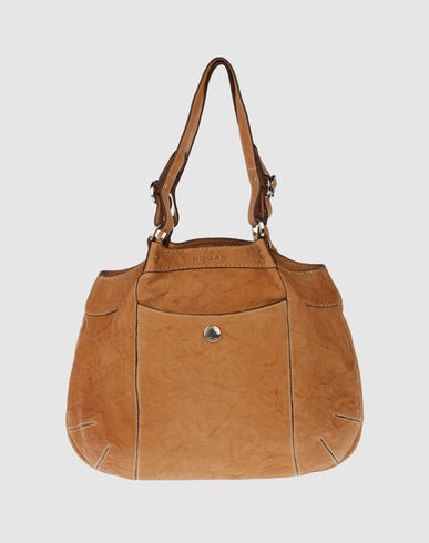 HOGAN Women - Handbags - Large leather bag HOGAN on YOOX from yoox.com