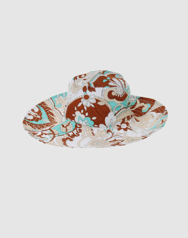 BLUMARINE BEACHWEAR Women - Accessories - Hat BLUMARINE BEACHWEAR on YOOX :  shopping trend summer hats