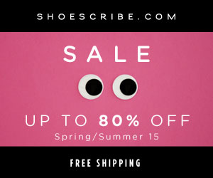 shoescribe.com - Enjoy 40% off the Spring/Summer 2015 collections